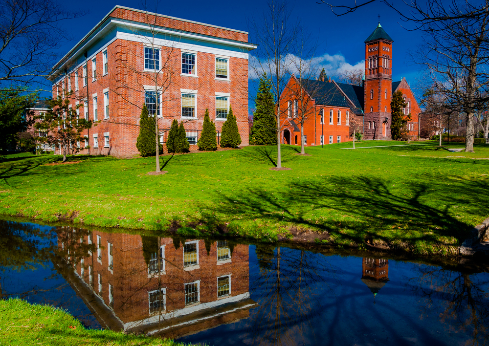 Gladfelter Hall, on the campus of Gettysburg College, PA.