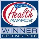 Digital Health Awards 2016 Winner