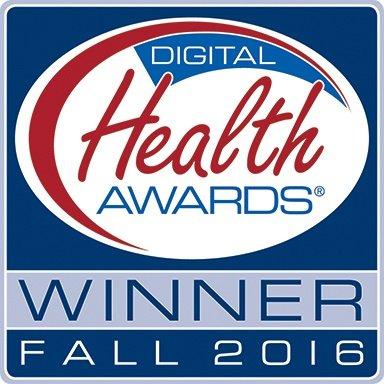 Digital Health Awards Winner Fall 2016