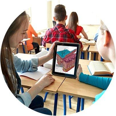 Anatomy apps for K-12 STEM activities