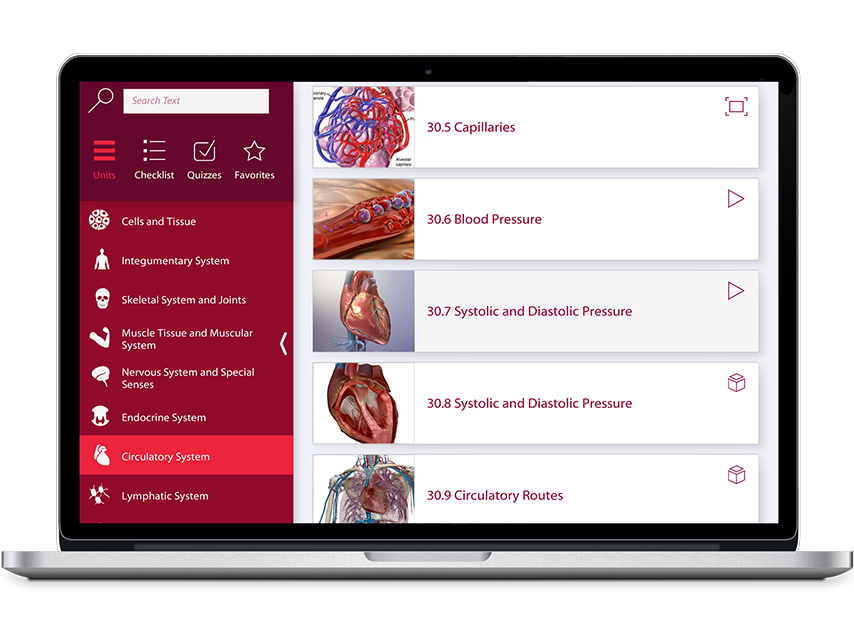 Human Anatomy and Physiology App