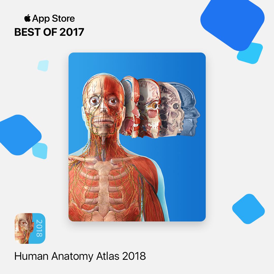 Visible Body app featured in Apple\'s Best of 2017
