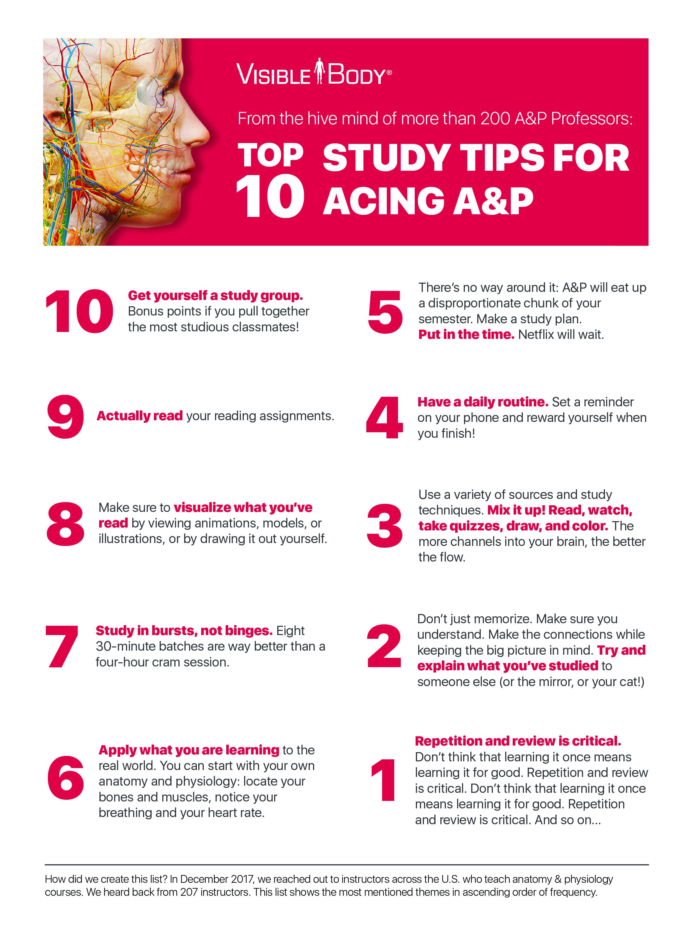 Enchanting Studying Anatomy And Physiology Tips Image - Anatomy ...
