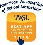 AASL best app for teaching and learning 2015