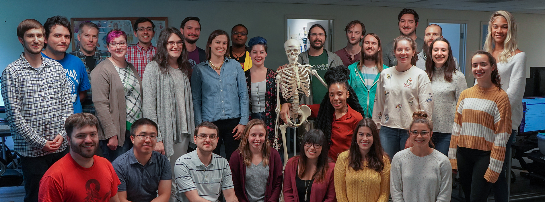 Members of the Visible Body team at the Newton office