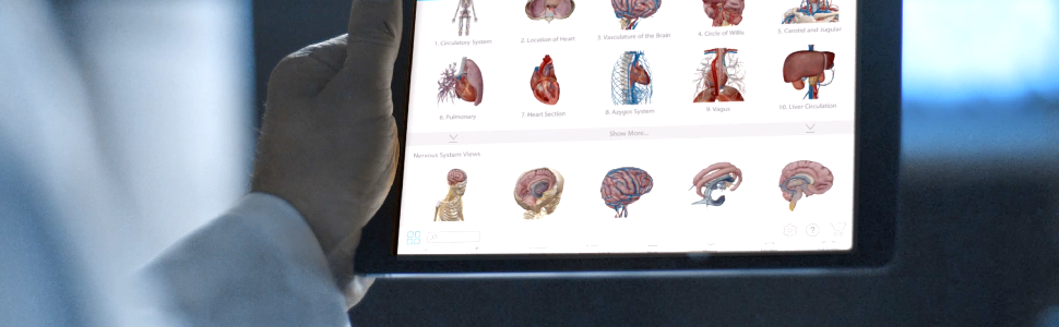 Visible Body's 3D anatomy apps make great patient education and reference tools.